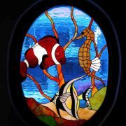 Stained Glass Las Gaviotas